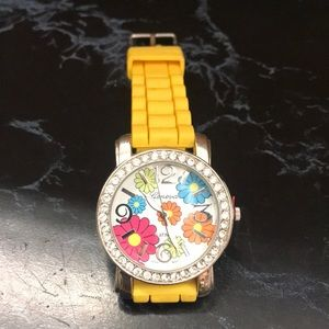Ladies floral face watch!